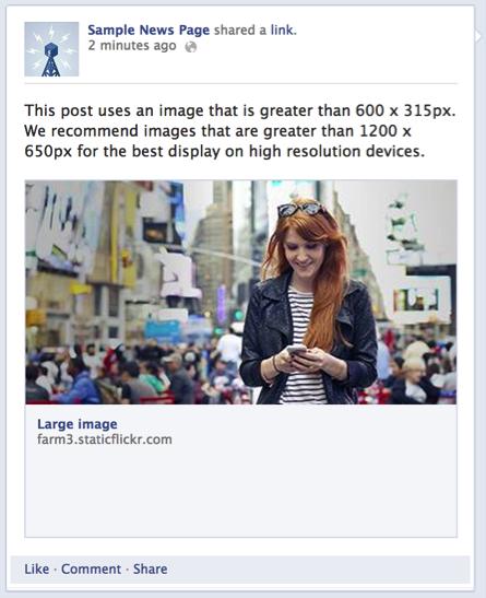 Facebook Share OG Meta Tag Image